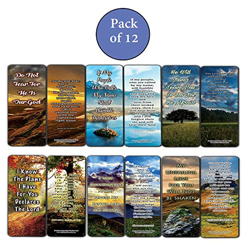 Encounter God's Promises Bible Bookmarks (12-Pack)