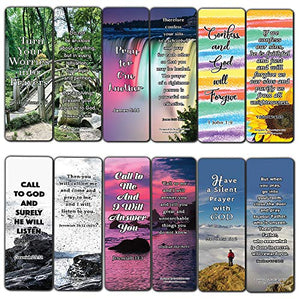 Favorite Prayer Bible Promises Bookmarks