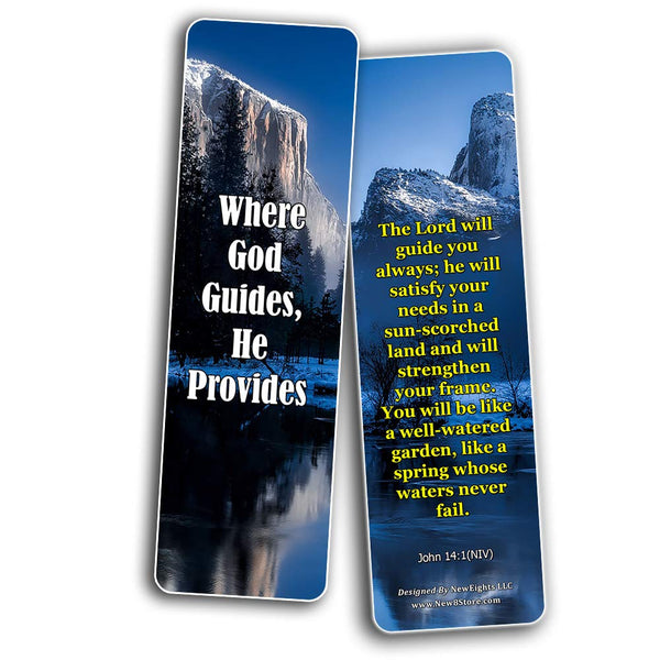 Inspirational Quotes About Christian Life Bookmarks