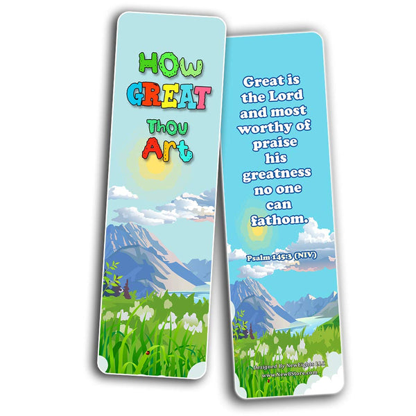 In Christ Alone Bible Bookmarks for Kids
