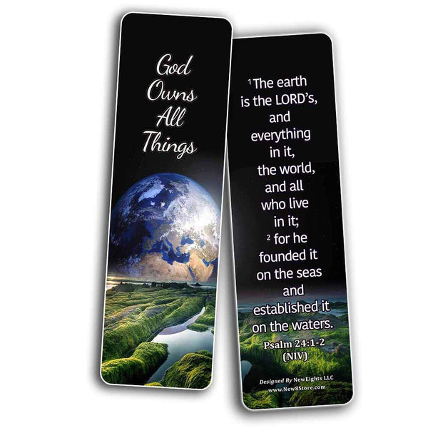 Sovereignty of God Bible Scriptures Bookmarks