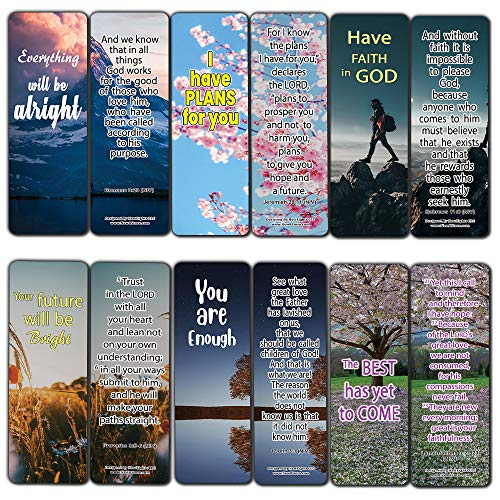 Daily Planners Encouragement Bookmarks Series 1 (12-Pack)