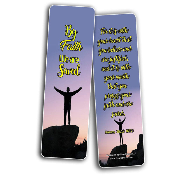 Scriptures Cards - Powerful Scriptures About Salvation