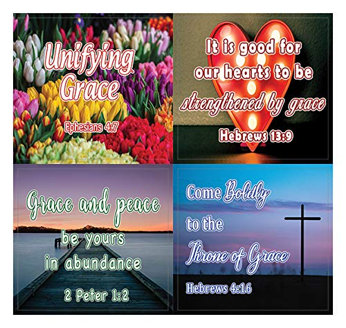 Encouraging Religious Stickers - Love and Grace of Gods