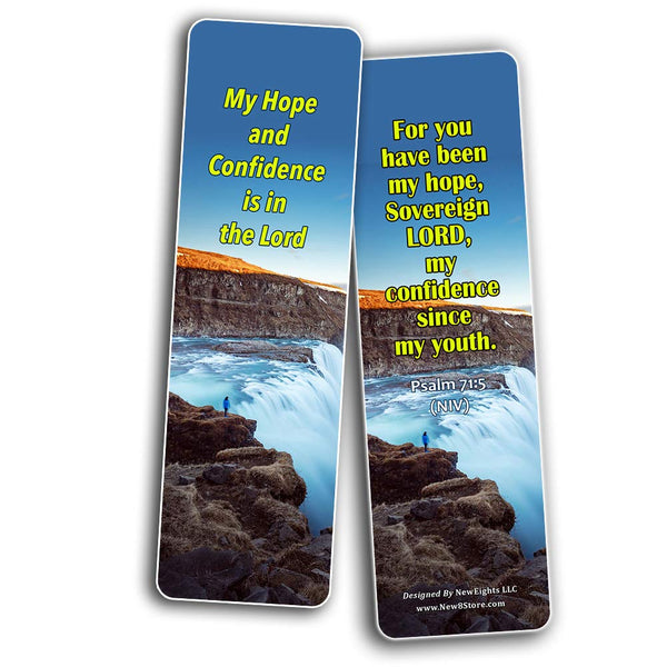 Bible Verses Bookmarks About Hope: Staying Positive in The Midst of Hardship