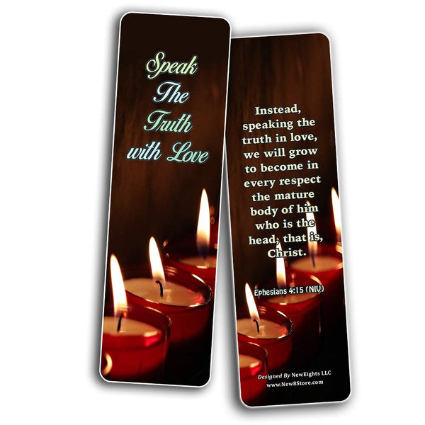 Bible Verses Bookmarks about Walking in the Truth