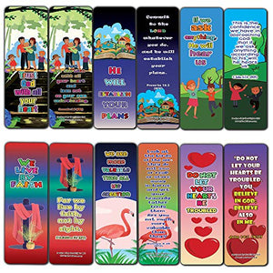 Trust in the Lord Memory Verses Bookmarks