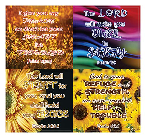 Christian Stickers for Women Series 4 (20 Sheets) - Assorted Mega Pack of Inspirational Stickers