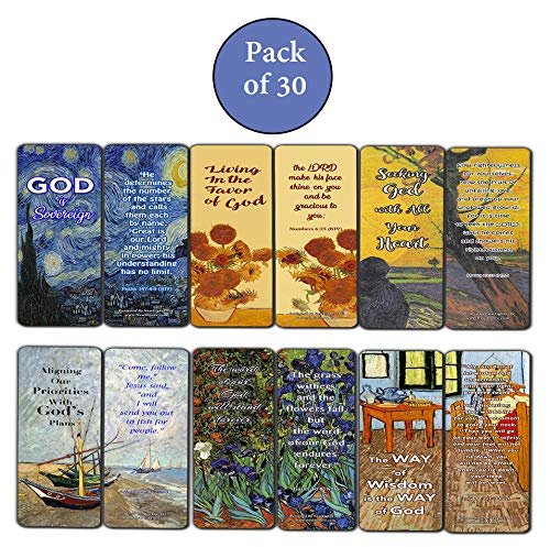 Wonderful Magnificent God Bible Verses Bookmarks (30 Pack) - Handy Life Changing Bible Texts and Quotes That Are Very Uplifting Perfect for Women
