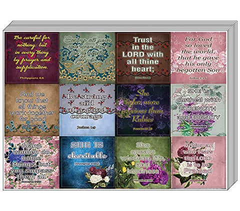 Vintage Religious Stickers for Women Series 1