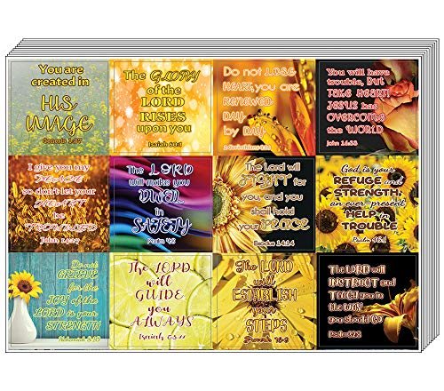Christian Stickers for Women Series 2 (20 Sheets) - Assorted Mega Pack of Inspirational Stickers