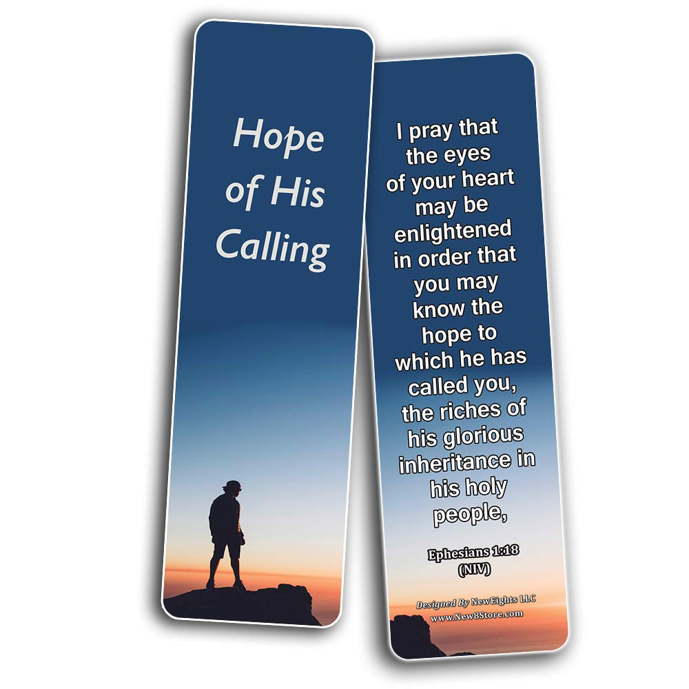 Hope Bible Verses Bookmarks – New8Store