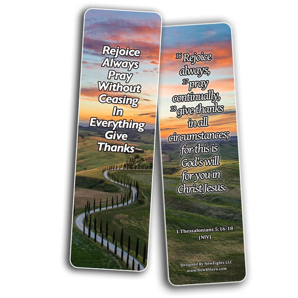 Inspiring Bible Verses Bookmarks
