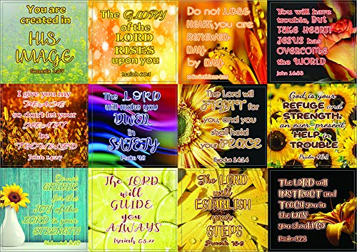 Christian Stickers for Women Series 1 (20 Sheets) - Assorted Mega Pack of Inspirational Stickers