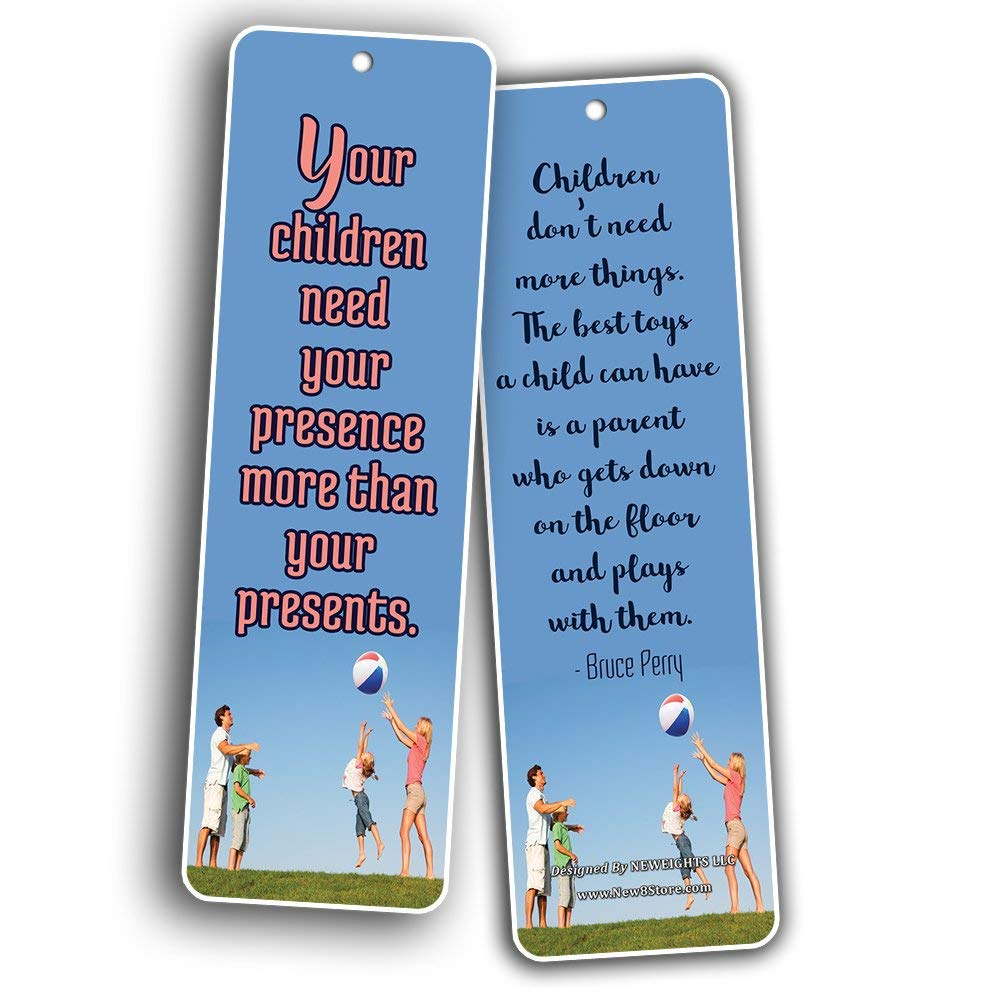 Bookmarks For Books Part - 31: ... Family Quotes Parenting Love Bookmarks (60-Pack) - Bookmarks For Books  - Parents