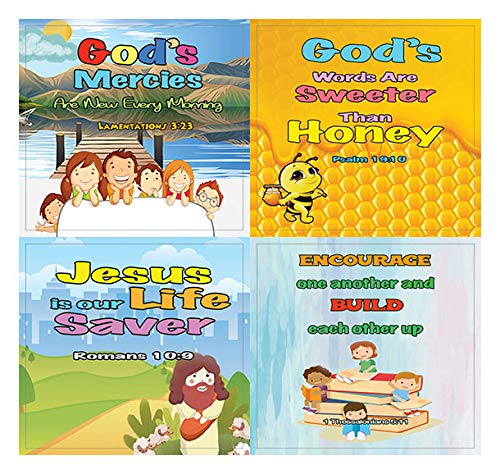 Religious Stickers for Kids - Powerful God (10 Sheets)