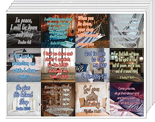 Life Giving Bible Verses Stickers (20-Sheet) - Great Giftaway Stickers for Ministries