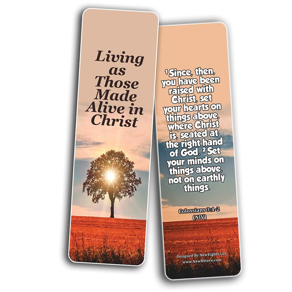 Hope Bible Verses Bookmarks