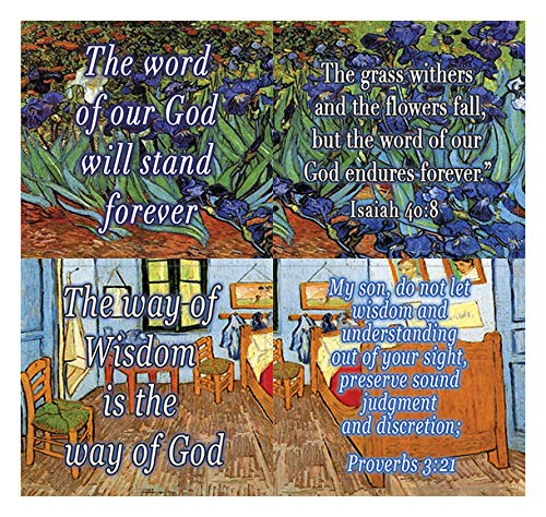 Wonderful Magnificent God Bible Scripture Stickers