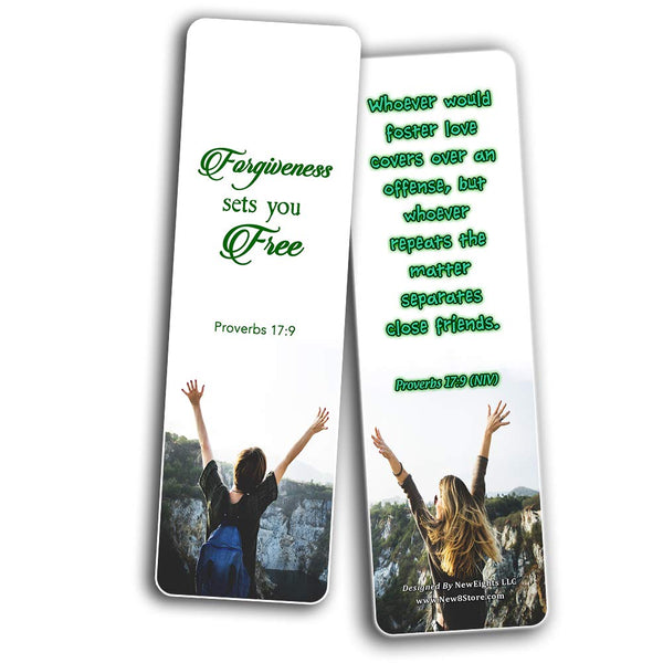 Scriptures Bookmarks - Bible Verses about Friendship