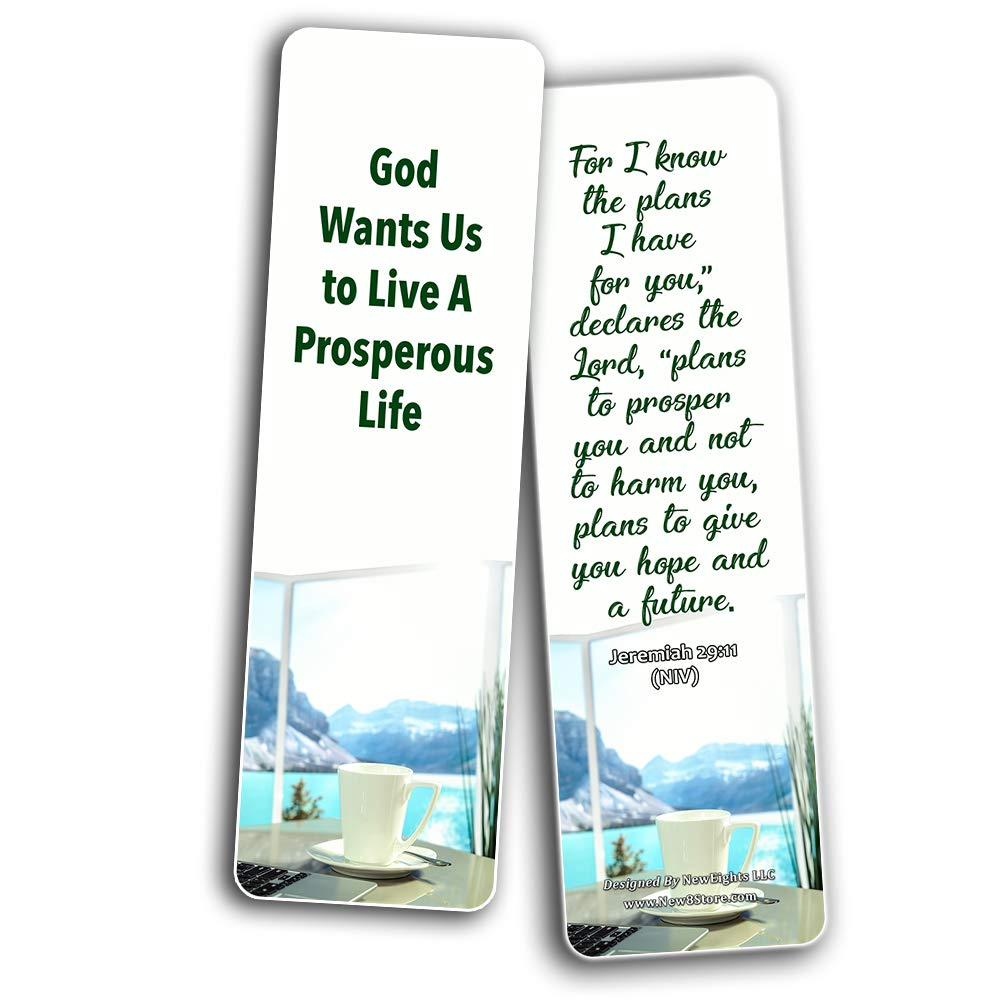 Christian Bookmarks for Biblical Encouraging Wisdom Words for Young  Entrepreneurs