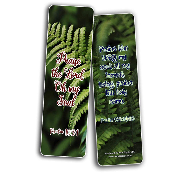 Inspirational Bible Verses about the Soul Bookmarks