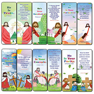 Jesus Throughout the Bible Bookmarks Series 9