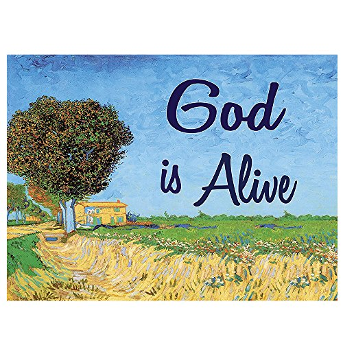 NewEights Christian Inspirational Bible Verses Poster - A3 Size -How Great is Our God Theme - War Room Decor (24 Pack)