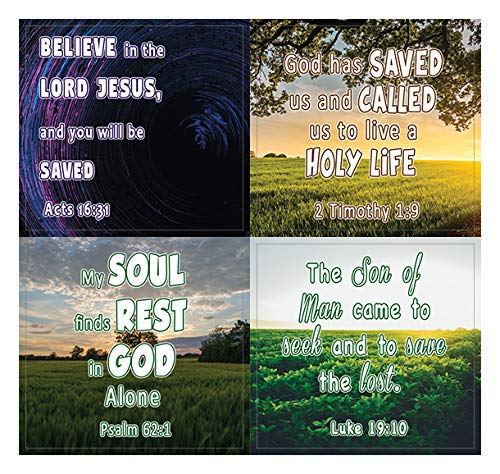 Love and Grace of God (20-Sheet) - Great Giftaway Stickers for Ministries