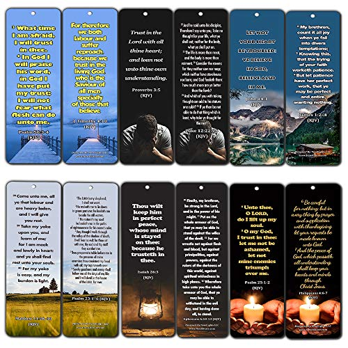 Success Bible Verses Bookmarks KJV (60-Pack) - Handy Bible Verses About Success Collection