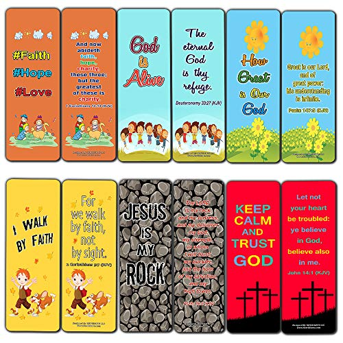 Children Christian Bookmarks