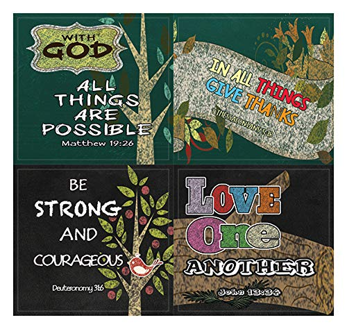 Colorful Bible Verse Stickers