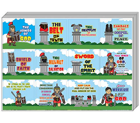 Armor of God Stickers Series 1