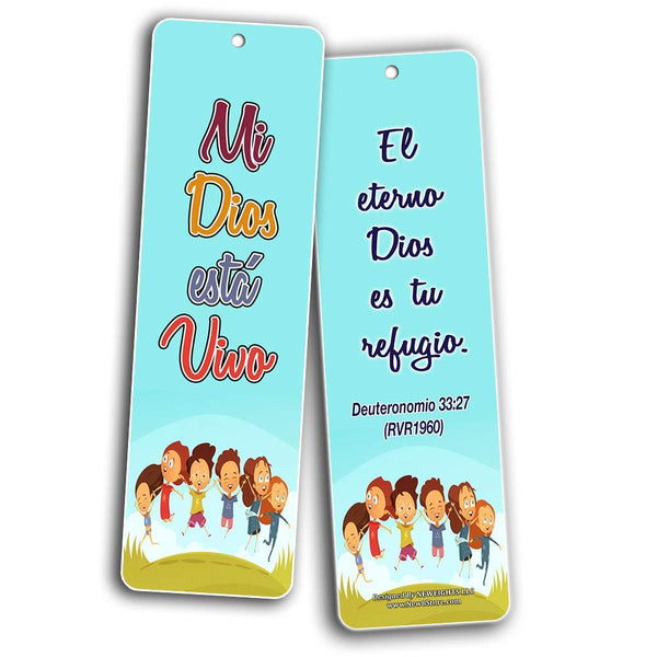 Spanish How Great is Our God Bookmarks for Kids