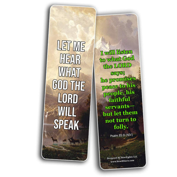 Hear The Voice of God Bookmarks