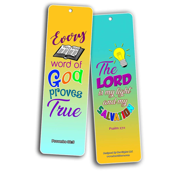 Easy Bible Scriptures for Kids - Colorful