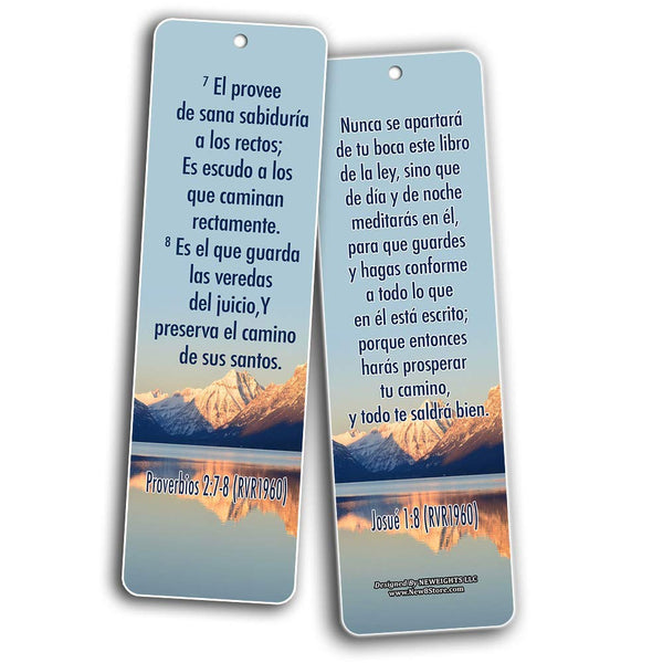 Spanish Success Bible Verses Bookmarks (RVR1960)