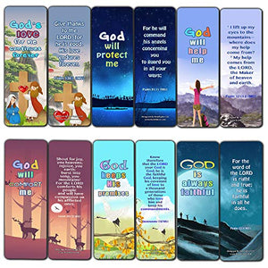 Christian Bookmarks for Kids - Encouraging God's Promises