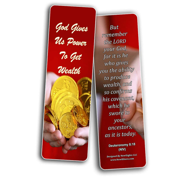 Christian Bookmarks for Biblical Financial Principles Series 2