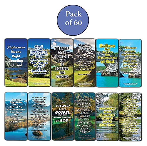 The Power of God's Righteousness Bible Bookmarks