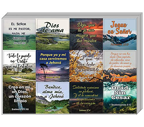 Spanish Religious Stickers (5-Sheet)