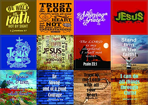 Jesus Stickers (10-Sheets)