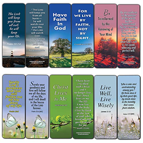 Trusting God with Your Life Christian Bookmarks