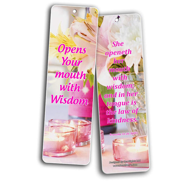 Feminine Strength Scripture Bookmarks