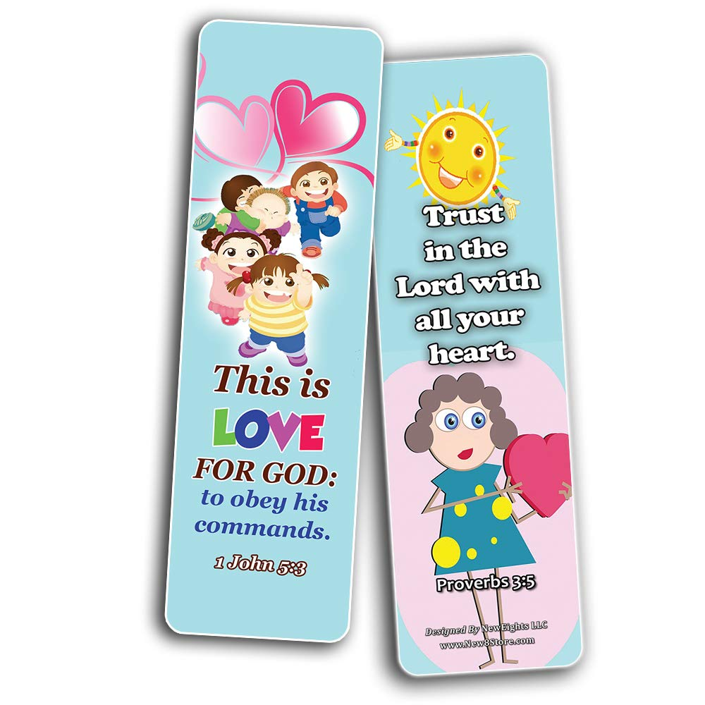 short bible verses for kids bookmarks new8store