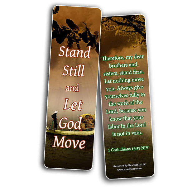 Encouraging Scriptures Bookmarks About Rewards For Obeying God