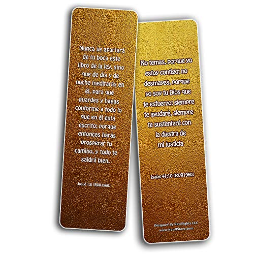 Spanish God's Promises Bible Verses Bookmarks (30 Pack) - Handy Spanish Bible Texts About God's Promises in the Bible