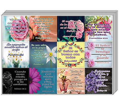 Spanish Christian Stickers for Women Series 2