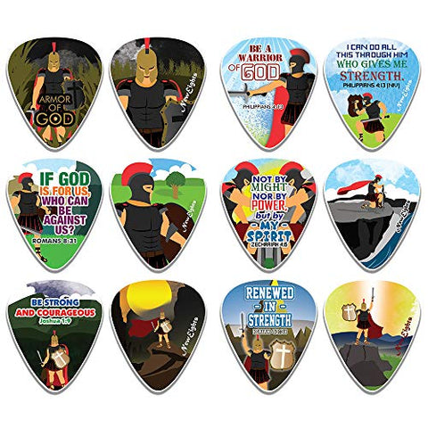 Armor of God Guitar Picks