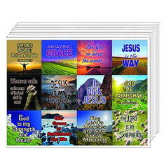 Almighty God Stickers (10-Sheet)